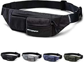 Fitgriff® Bumbag for Women and Men, Fanny Pack, Waist Bag, Hiking, Fitness, Gym, Travel, Waterresitent Belt Bag