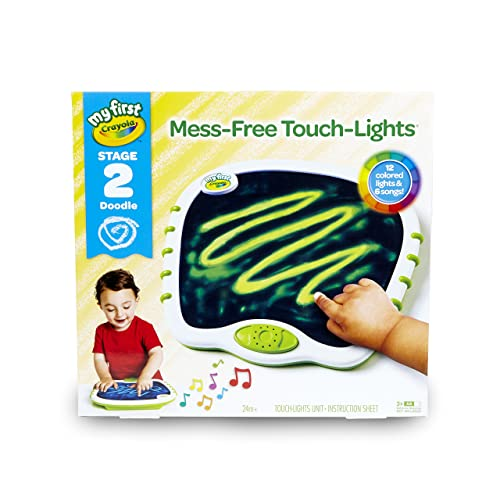 My First Crayola Touch Lights Musical Doodle Board Toddler Toy Gift
