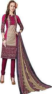 Minu salwar Cotton Printed Suit sets Multi(Mannat_1002_0)