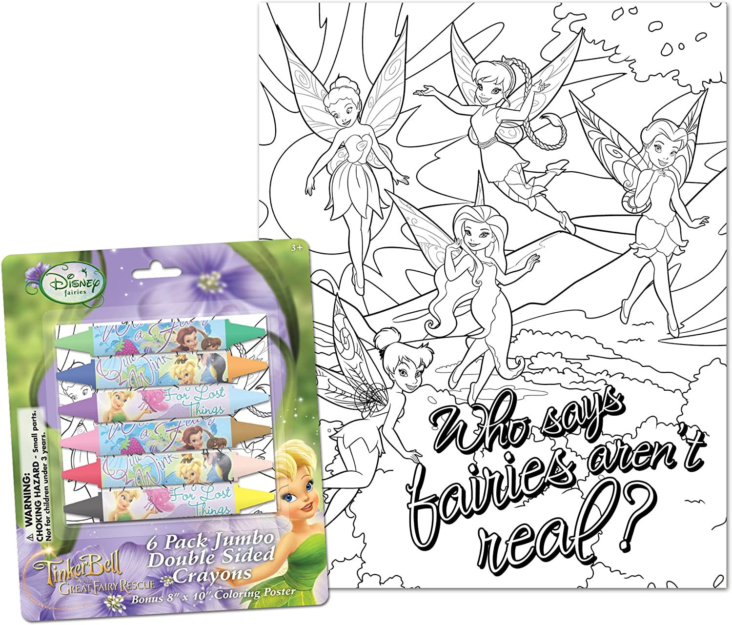 Fairies Cheap sale Jumbo Double-Sided Ranking TOP13 Crayons 11344A