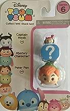 Disney Tsum Tsum Series 6! 3-Pack Figures: Captain Hook/Mystery/Peter Pan