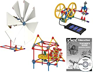 K'NEX Education – Renewable Energy Set – 583 Pieces – Ages 10+ – Engineering Educational Toy