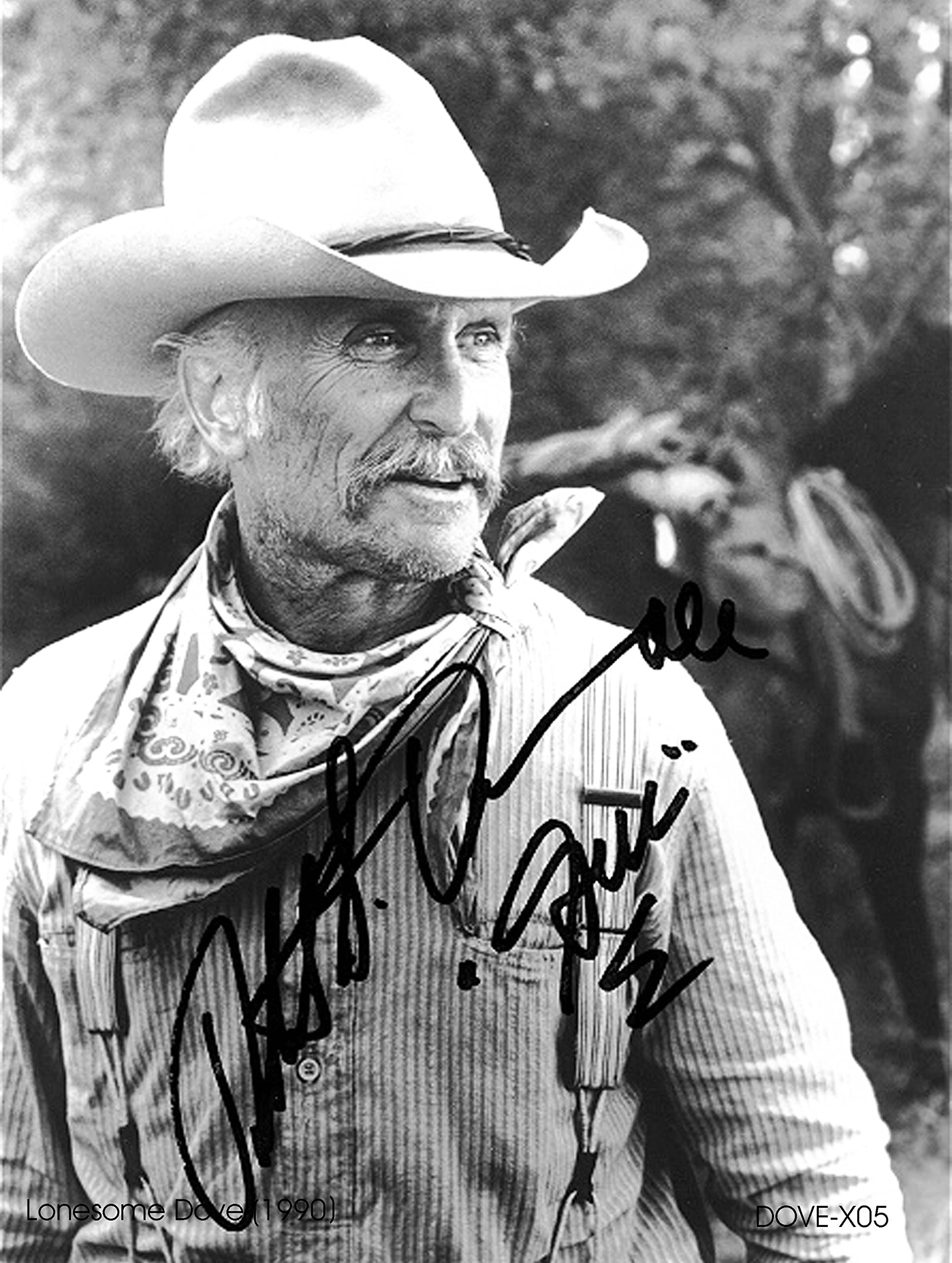 LONESOME DOVE  Robert Duval /& Ricky Schroder Autographed Copy 8x10 Reprint