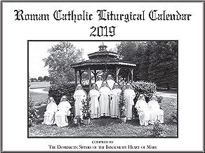 Liturgical Calendar 2019, Roman Catholic