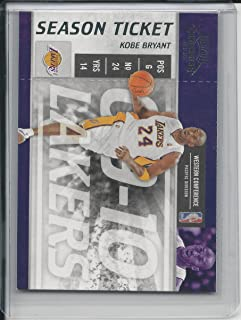 2009-10 Playoff Contenders #86 Kobe Bryant