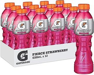 Gatorade Fierce Strawberry Sports Drink, 12 x 600ml