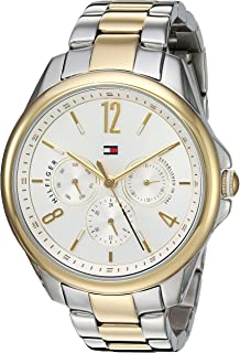 Tommy Hilfiger Womens Quartz Watch, Analog Display and Stainless Steel Strap 1781825
