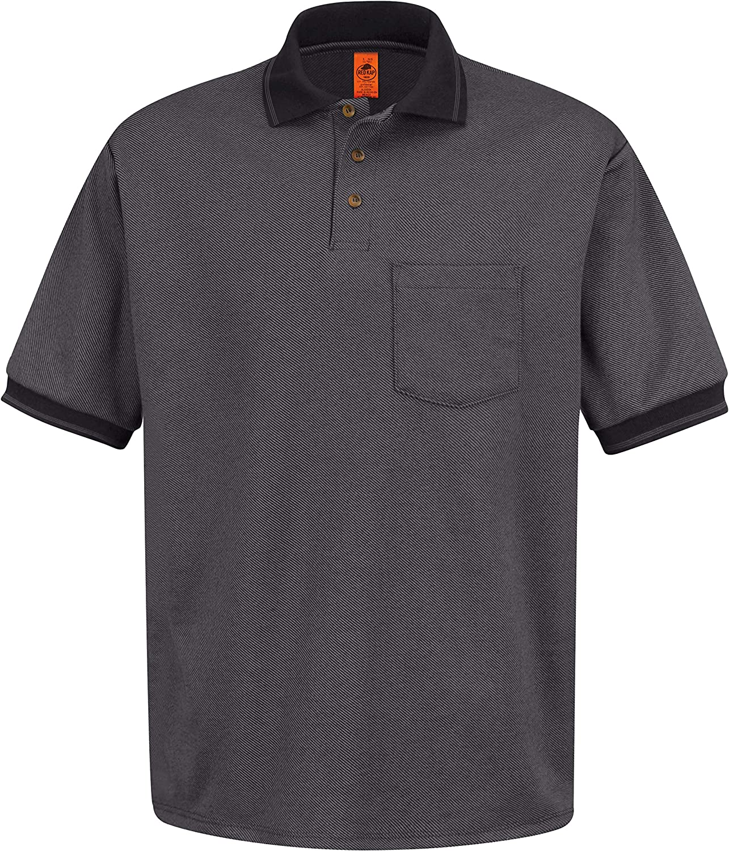 Red Kap Men's Performance Knit Twill Shirt