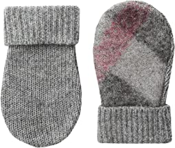 Burberry Kids Needlepunch Mittens (Little Kids/Big Kids)