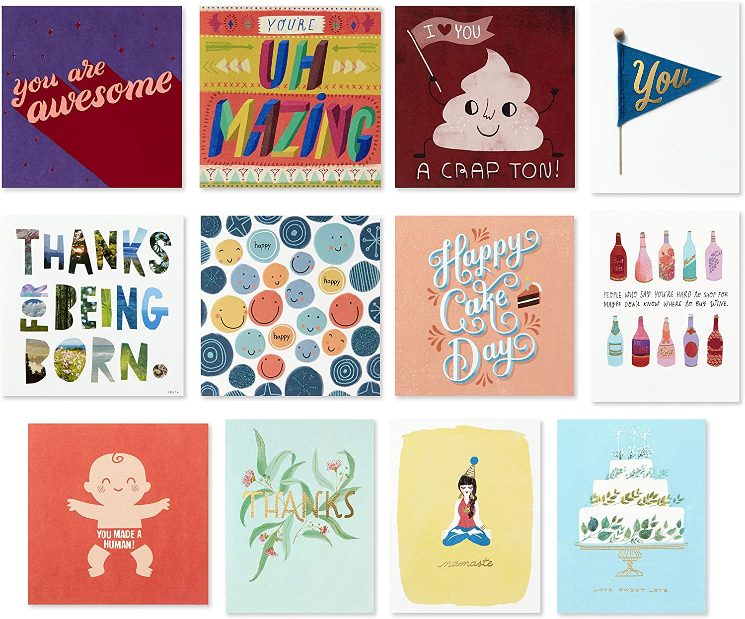 Hallmark Good Mail All Occasion Greeting Import Boxed Ranking TOP9 Cards Assortment