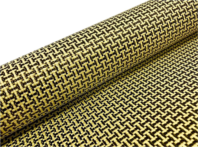 Carbon Fiber Yellow Excellent Kevlar Fabric Dogbone 3k I Max 73% OFF H 5 1500d Weave
