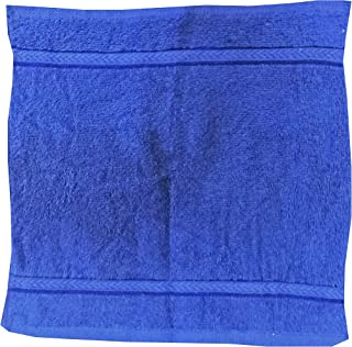 Princes Terry Face Towel, Royal Blue, 30 cm x 30 cm, PR_FT_RB