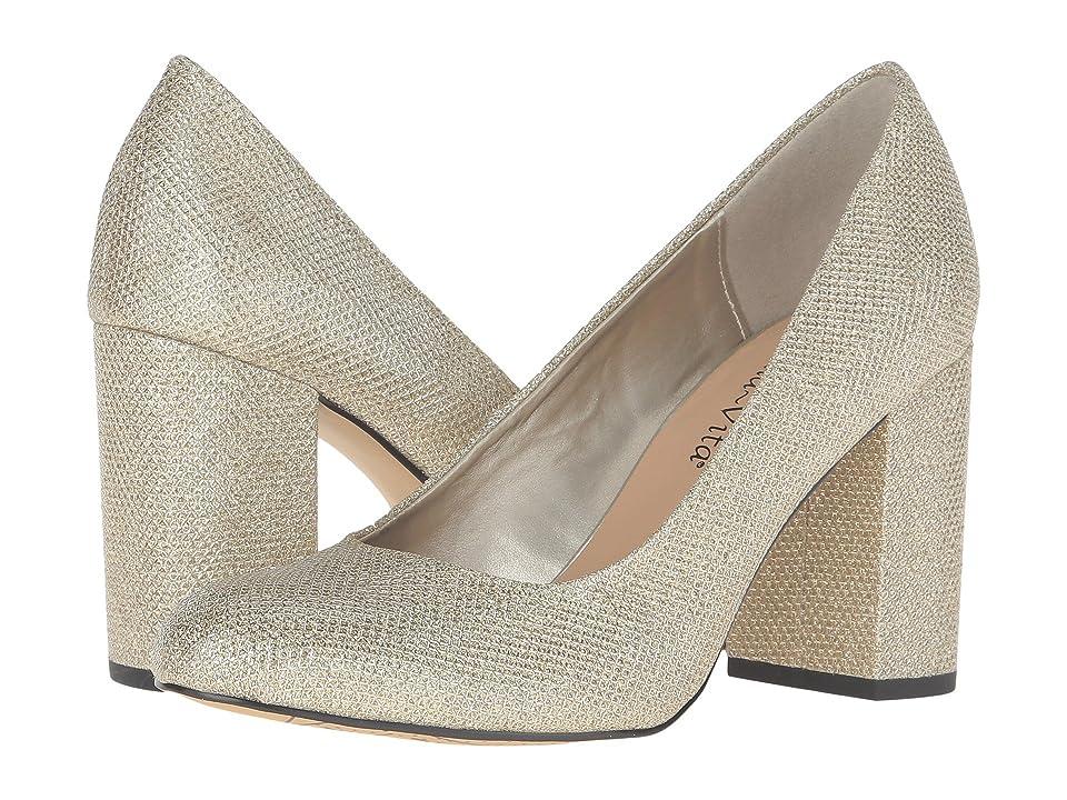 Bella-Vita Nara (Gold Glitter) High Heels