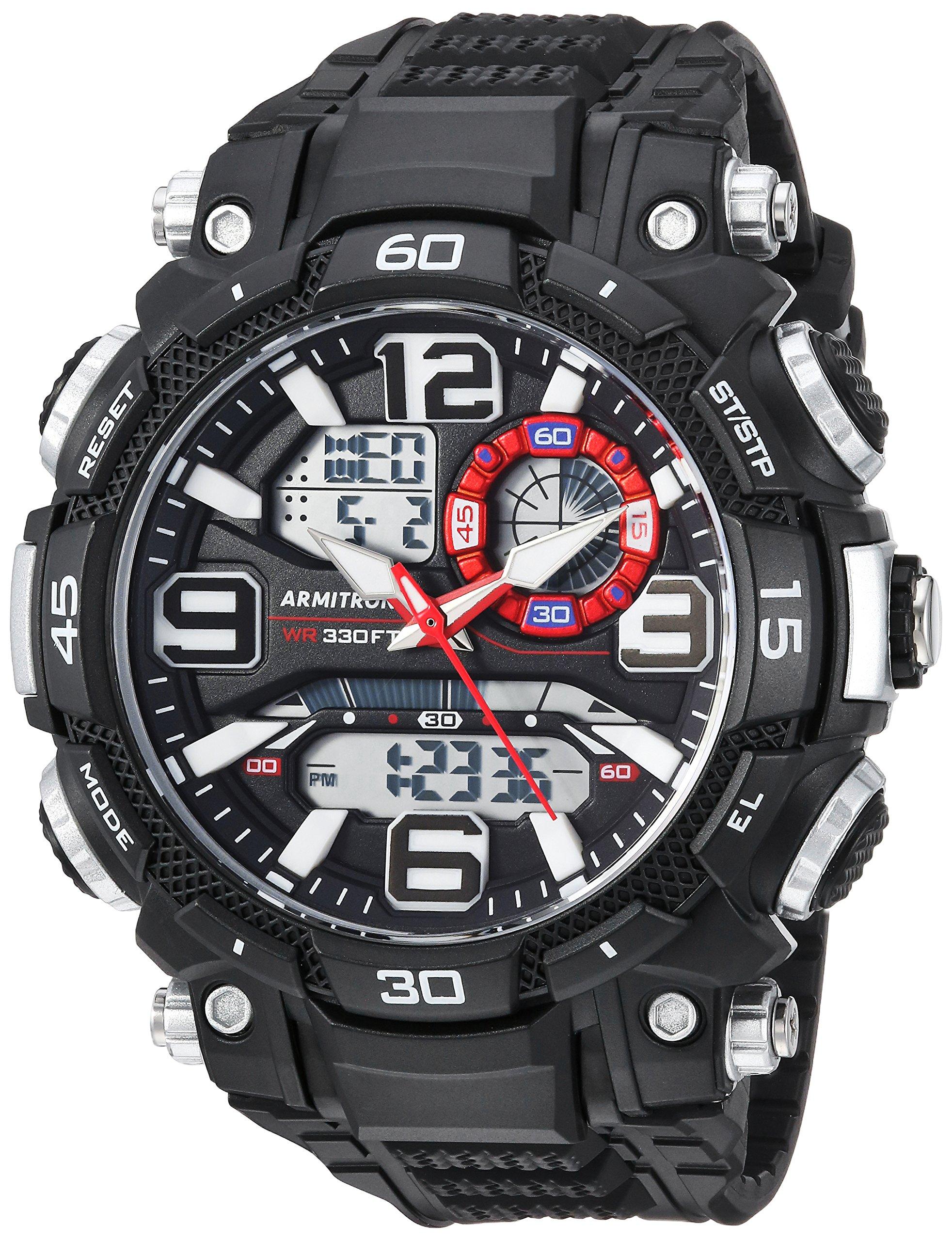 Armitron Sport 5270BLK Analog Digital Chronograph