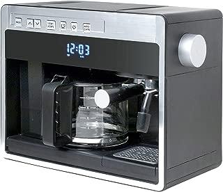 Espressione-Ariete (a company of De'Longhi Group) 26161 New 3-in-1 Combination Coffee Beverage System, Black Silver