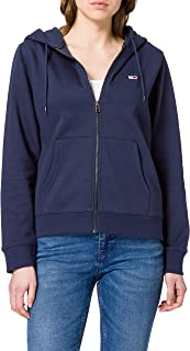 Tommy Jeans Tjw Regular Hoodie Zip Through Maglione Donna