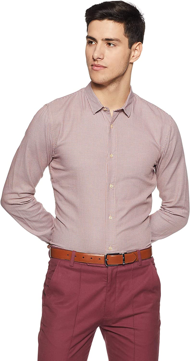 Scotch /& Soda Nos Oxford Shirt Regular Fit Classic Collar Camisa para Hombre