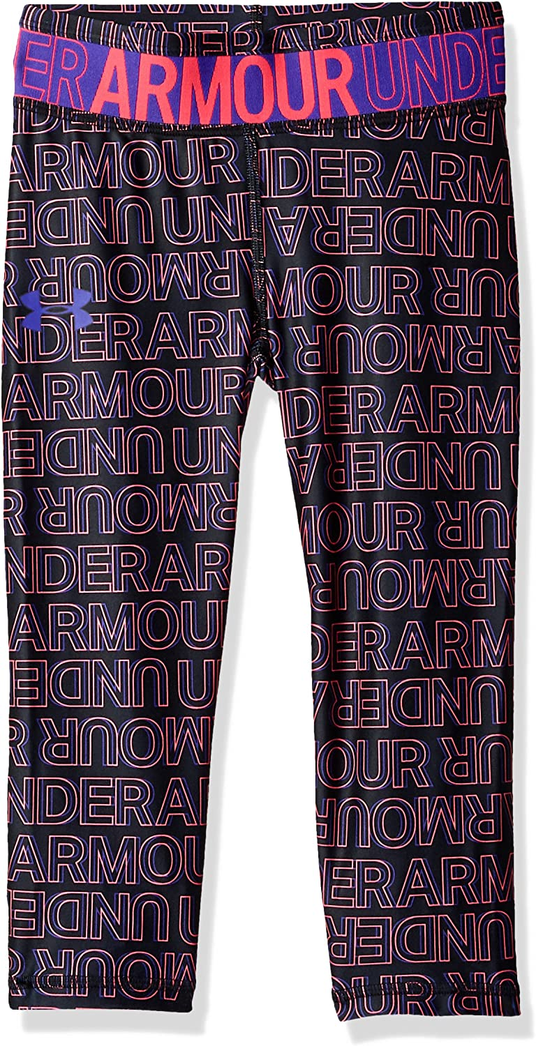 Large special price !! Under Armour 70% OFF Outlet Girls' Capri Novelty HeatGear