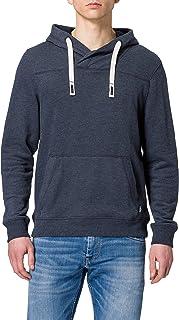 TOM TAILOR Men's Sweatshirt Basic Hoodie