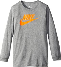 Nike Kids - Sportswear Dry Futura Long Sleeve T-Shirt (Little Kids/Big Kids)