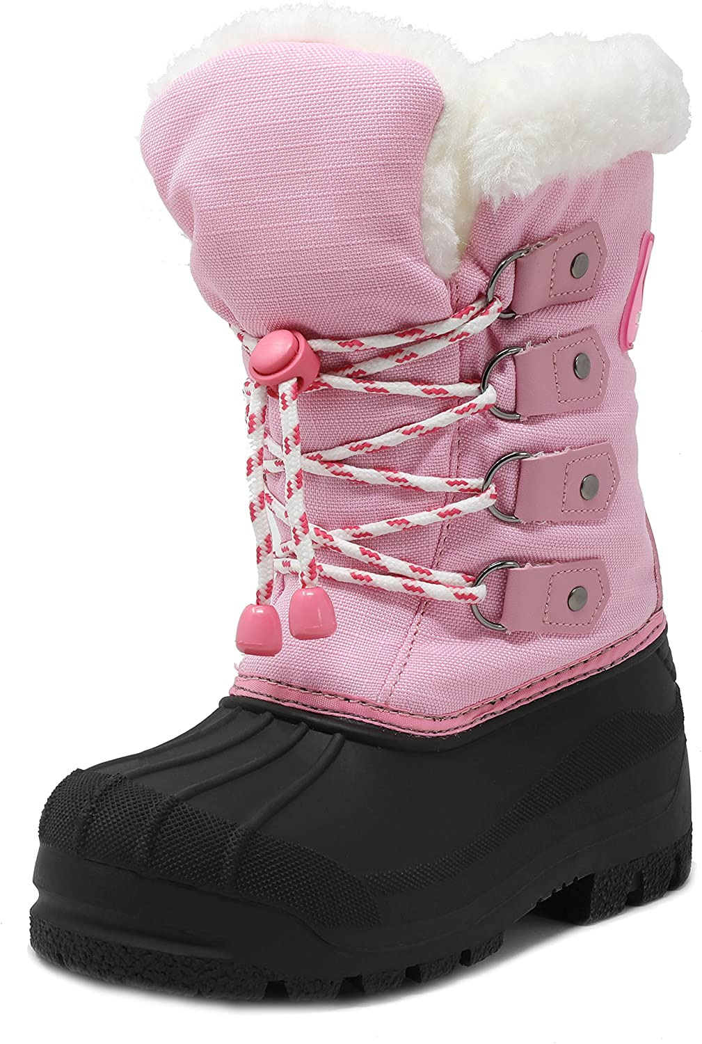 DREAM PAIRS Boys Girls Knee Superlatite High Boots Snow Lit Winter Toddler Spring new work one after another