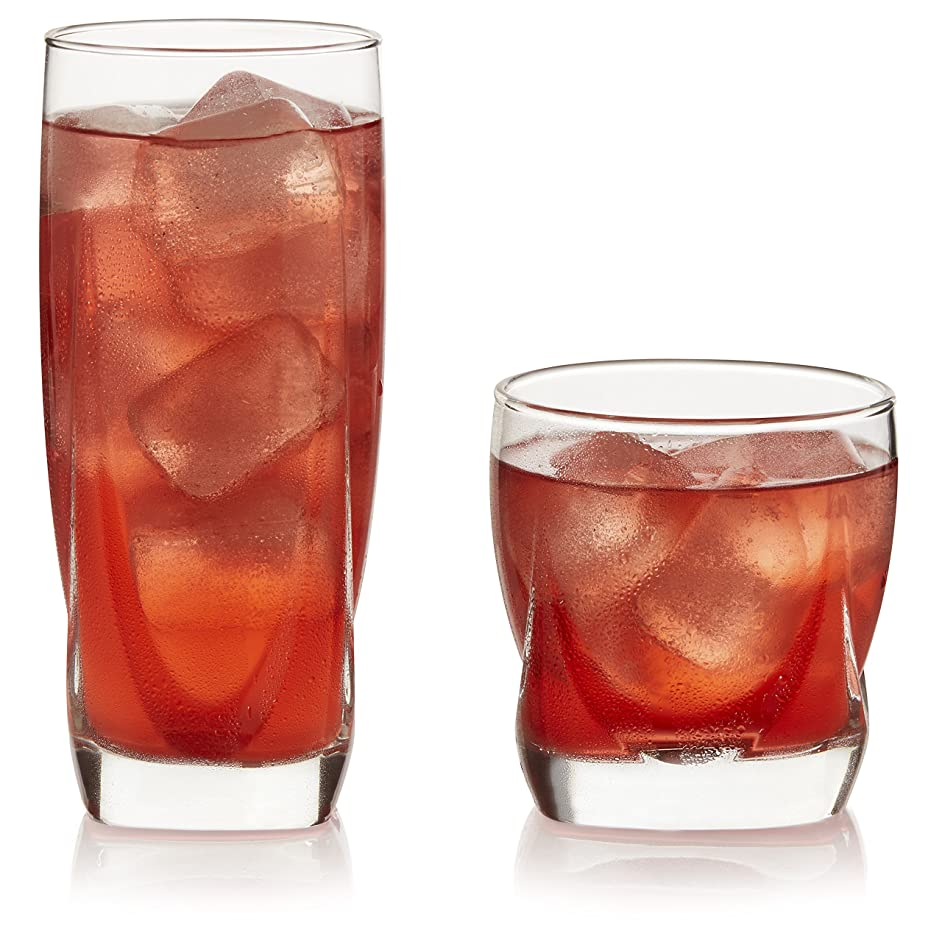 Libbey Imperial 16-Piece Tumbler and Rocks Glass Set