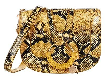 See by Chloe Hana Shoulder Bag (Golden Green) Handbags