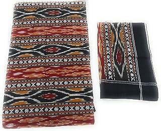 Ikkat India Handloom weaved sambalpuri bedsheets bedcover king size cotton linen double bed sheets6