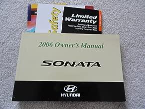 Best 2006 hyundai sonata owners manual Reviews