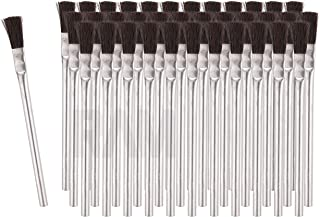 RAM-PRO 36 Flexible Bristle Tin/Metal Tubular Ferrule Handle Acid/Flux Brushes for Home/School/Shop/Garage