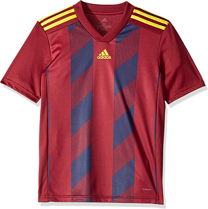 adidas Boys' Striped19 Youth Soccer Jersey