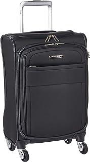 Samsonite Eco Lite Spinner Unisex Medium Black Polyethylene Luggage Bag TSA Approved 112330-1548