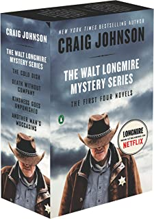 The Walt Longmire Mystery Series Boxed Set Volumes 1-4: The First Four Novels (Walt Longmire Mysteries)