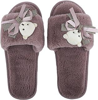 Irsoe Fur Comfortable Indoor/Outdoor Soft Bottom Slippers |Womens Flipflop |Womens Fancy Slippers |Girls Slippers flip Flo...