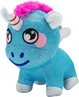 """Squeezamals 3Deez 3.5"""" Plush - Ella Unicorn"""