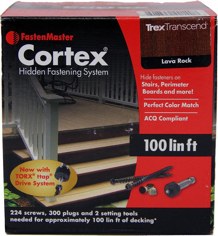 FastenMaster Cortex Hidden Cheap SALE Start Fasteners -Trex Lava Portland Mall Rock Transcend -