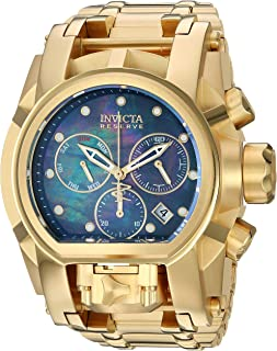 Men's Reserve Quartz Stainless-Steel Strap, Gold, 34 Casual Watch (Model: 26706)