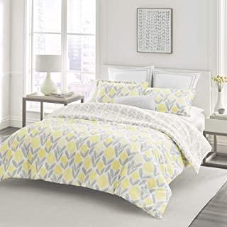 Laura Ashley Serena Comforter Set, Full/Queen, Yellow