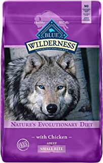 Blue Buffalo Wilderness High Protein, Natural Adult Small-Bite Dry Dog Food, Chicken
