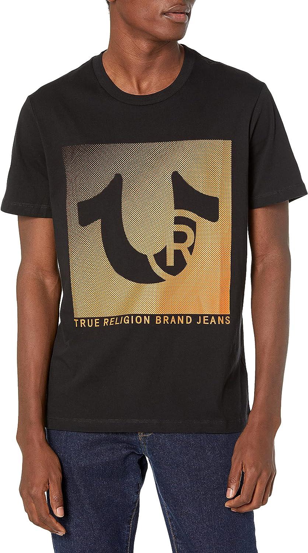 True Super special price Religion shop Men's Trademark Horseshoe Sleeve T Crew Neck Short