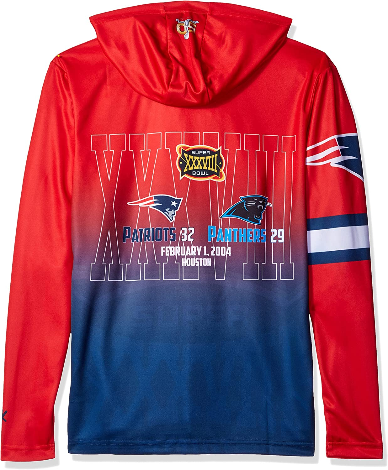 Forever Collectibles Super Bowl Champions Poly Hoody Tee