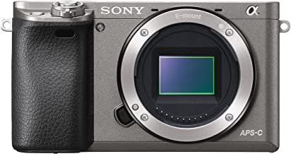 Sony Alpha a6000 Mirrorless Digital Camera 24.3MP SLR Camera with 3.0-Inch LCD - Body Only (Graphite)