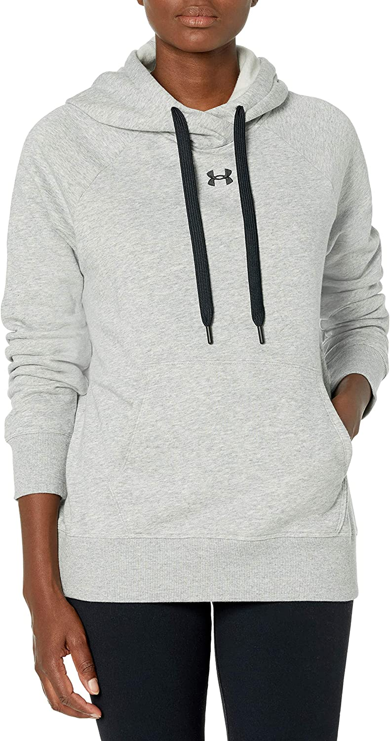 Under Armour Women's Rival Fleece Hoodie Award-winning store Pull-Over Max 46% OFF