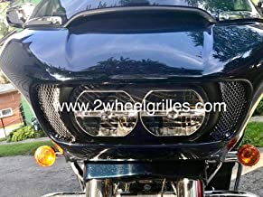 2015-2018 Harley Davidson Road Glide Chrome Fairing Grills Screens Vents Mesh