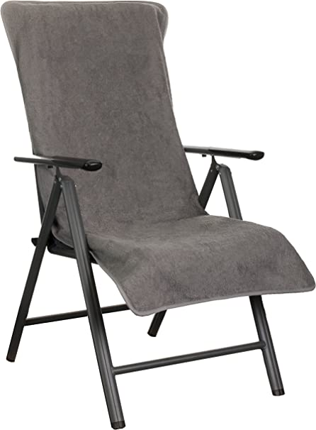 Cuscini per sedie a Sdraio da Giardino Colore Nero 3 Colori