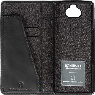 Krusell Unisex Sunne 2 Card Folio Wallet Sony Xperia 10 Case - Black