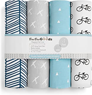 Pad Cover28 Gina Era Changing Table Pad Cover for Girls and Boys Ultra Soft and Stretchy Diaper Changing Pad Cover