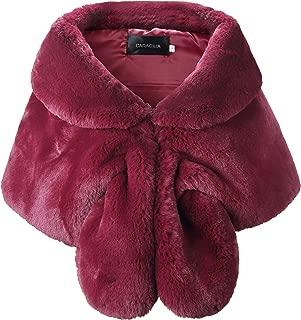 Best purple fur shawl Reviews