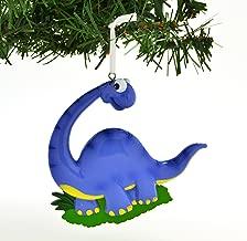 Grantwood Technology Personalized Christmas Ornament Blue Brachiosaurus Dinosaur/Personalized by Santa/Dinosaur Ornament/Dinosaur Christmas Ornaments
