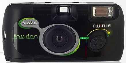 Fujifilm 7130784 Quicksnap Flash - Cámara Desechable (Flash, 27 Fotos, ISO 400), Color Negro